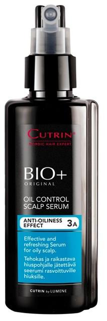 Cutrin BIO+ Oil Control Scalp Serum Регулирующий лосьон для жирной кожи головы, 150 мл.
