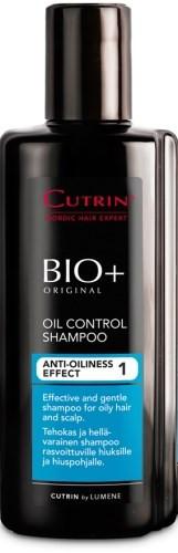 Cutrin BIO+ Oil Control Shampoo Anti-Oilness Effect 1 Шампунь для жирных волос и кожи головы, 200 мл.