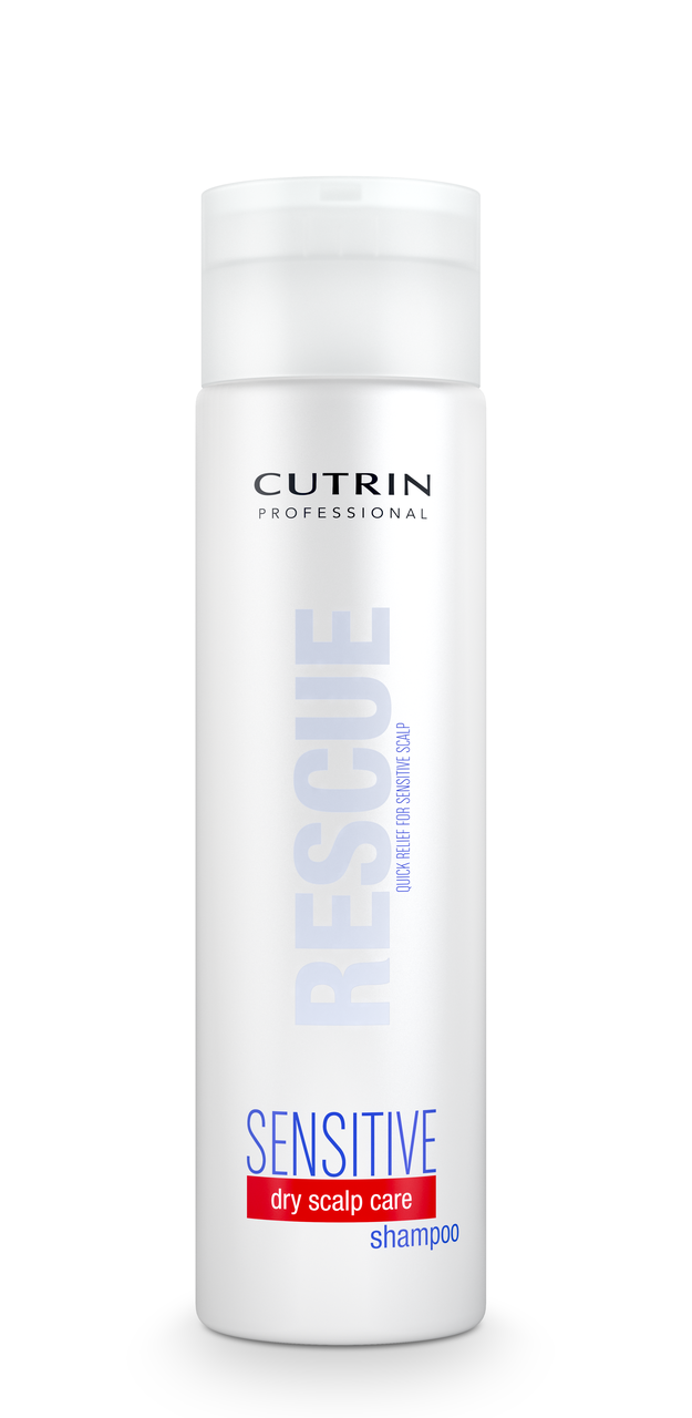 Cutrin Sensitive Rescue Shampoo Шампунь для интенсивного увлажнения для сухих волос и чувствительной кожи