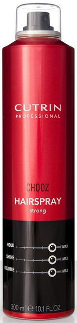 Лак сильной фиксации Cutrin Сhooz Hair Spray strong, 300 мл
