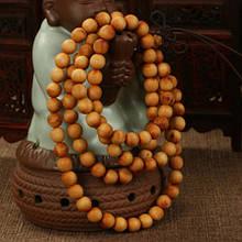Буддийские сандаловые четки 108 бусин