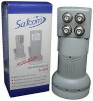 Конвертор спутниковый  QUAD Satcom S-406 (4выхода)