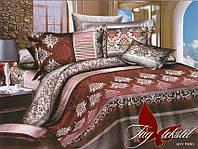 Постельное белье полуторное поликоттон XHY690,магазин постельного
