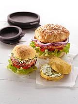 Пресс для гамбургеров в комплекте с формами для булочек My Burger 12 el., фото 3