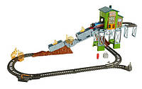 Игровой набор Томас и друзья железная дорога спасательная станция Fisher-Price Thomas & Friends TrackMaster, фото 1