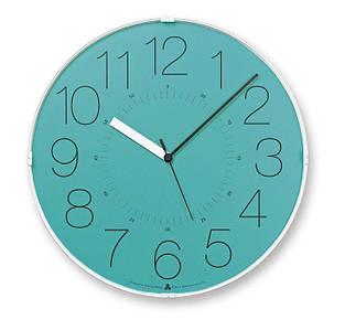 Настенные Часы Awa Cara синий щит