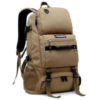LOCAL LION рюкзак для пешеходного путешествия изготовлен из нейлона в тактическом стиле 40л Хаки