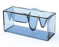 Органайзер на рабочий стол Liquid Station синий