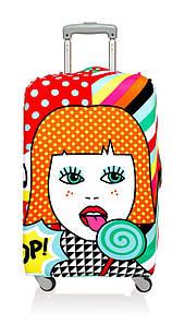 Чехол для чемодана LOQI Lollipop