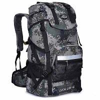LOCAL LION рюкзак для пешеходного путешествия с водонепроницаемым характером 42л камуфляжный