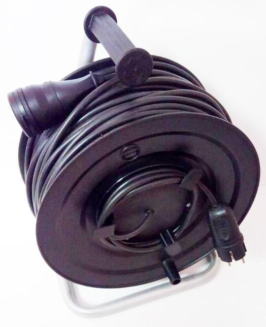 Удлинитель на катушке с выносной розеткой 50м (2х1,5) 3 кВт