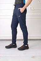 Мужские спортивные штаны Nike(реплика) 7820-1 синиe код 811б