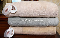 """Бамбуковое полотенце """"Micro Coton Nuans"""" 70*140 ( 100% хлопок) Puppila, Турция 5061"""