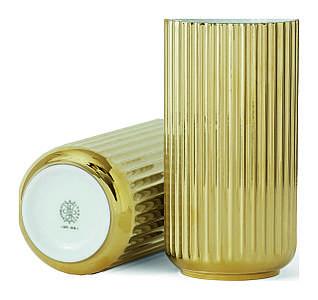 Ваза Люнгбю блестящие золото