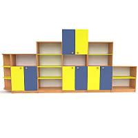 Стенка для детского сада Стандарт по низким ценам от производителя