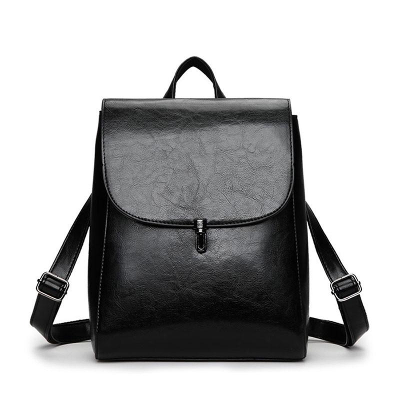 4aa6e5be6c4b Рюкзак сумка (трансформер) городской женский из экокожи (черный) -  Интернет-магазин
