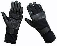 Тактические удлиненные огнестойкие перчатки Кевлар военные