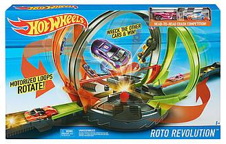 Hot Wheels Roto Revolution Track Трек Хот Вилс Улётное вращение