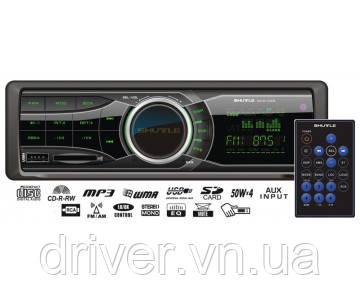 Автомагнітола на USB флешці, зелена підсвітка SUD-350 +Bluetooth v5.0
