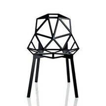 Стул Chair_One белые с ногами покрашенными в белый цвет, фото 2