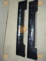 Накладки порогов ВАЗ 2121 НИВА ТЮНИНГ (2шт) (модель квадраты) (пр-во Россия) №123525