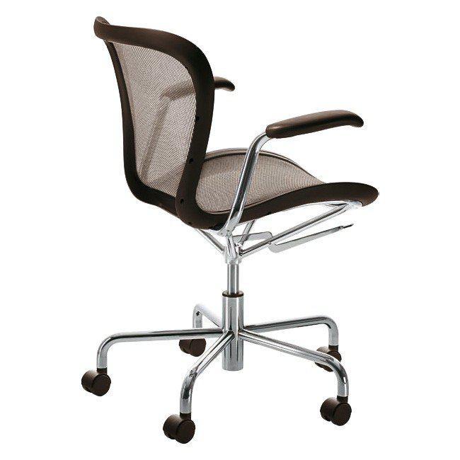 Кресло на колесиках Annett, коричневый