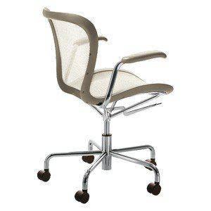 Кресло на колесиках Annett, коричневый, фото 2