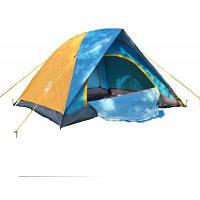 AOTU AT6501 палатка на 2 человека 3 сезона Синий и жёлтый