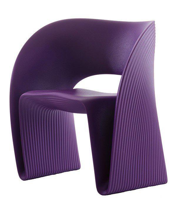 Кресло Raviolo фиолетовый