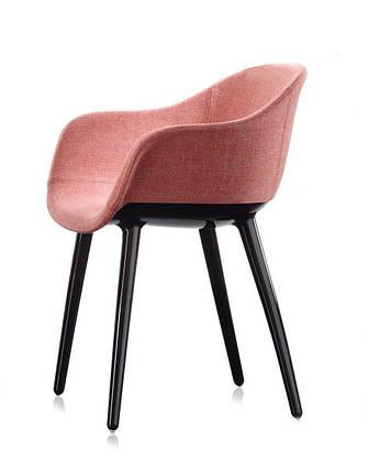 Стул Киборг Леди рама черная, сиденье красное, фото 2