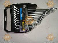 Набор ключей рожково-накидных  7-22 мм 12 шт (планшет) CrV изогнутые (пр-во SIGMA) № 75954