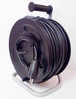 Удлинитель на катушке с выносной розеткой с заземлением 40м (3х2,5) 5 кВт, фото 1