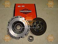 Сцепление Газель NEXT дв. Cummins 2.8 (полный комплект: корзина + диск + выжимной) (пр-во Truckman Россия)