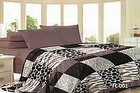 Плед флисовый двухспальный 180х220 Moorvin