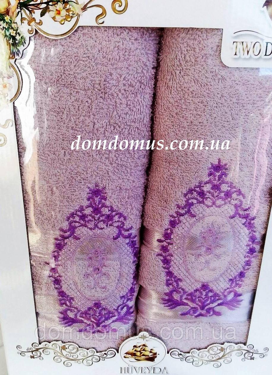 Подарочный набор полотенец TWO DOLPHINS, Турция 0178
