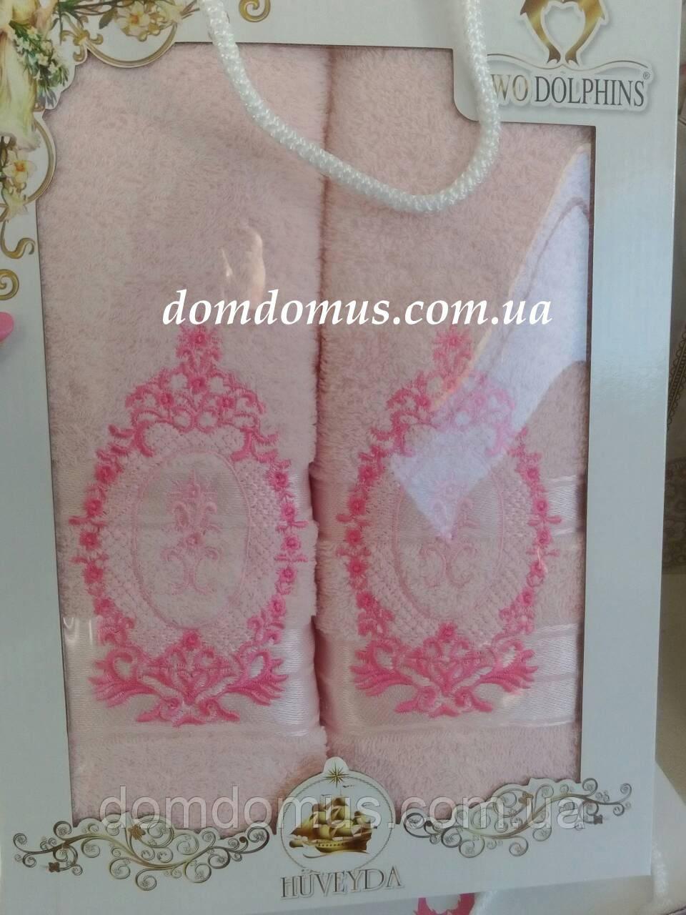 Подарочный набор полотенец TWO DOLPHINS, Турция 0180