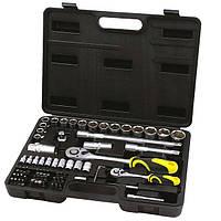Профессиональный набор инструментов  Сталь 72 ед. (70024)