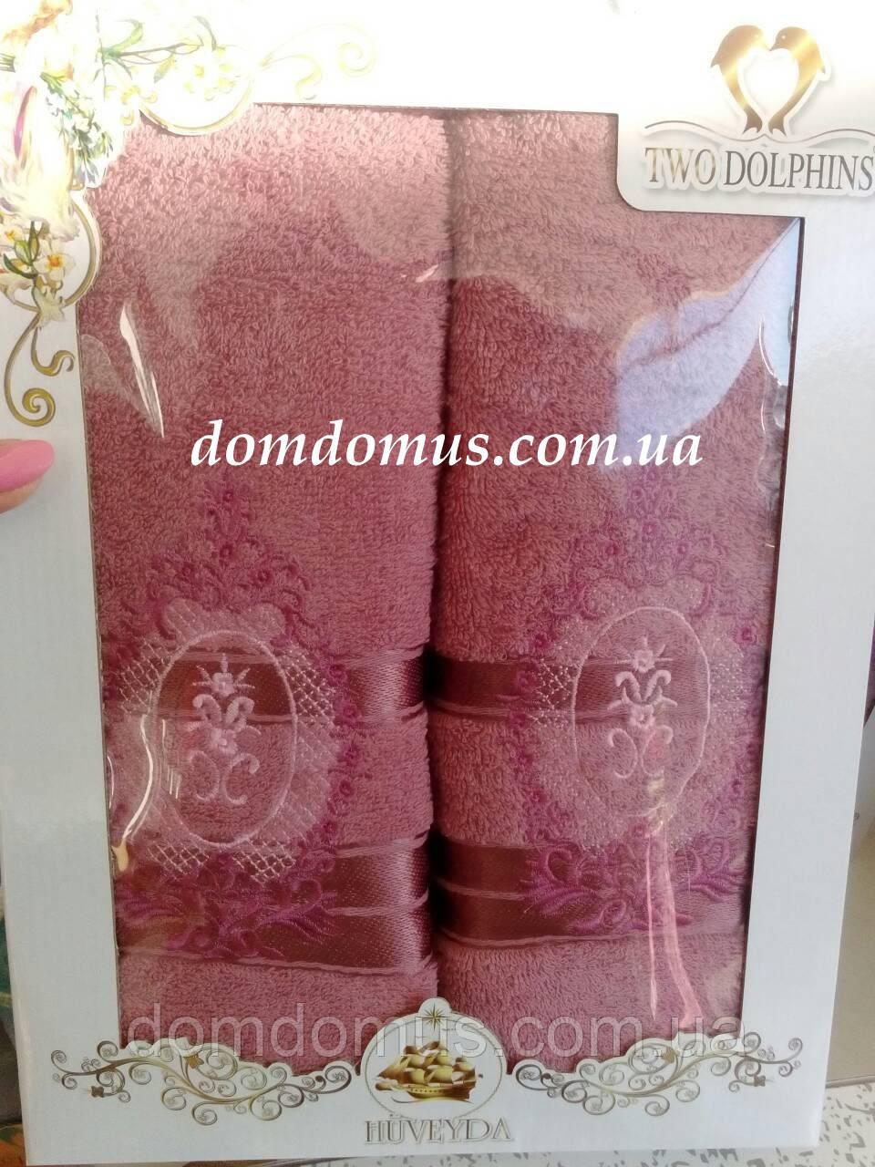 Подарочный набор полотенец TWO DOLPHINS, Турция 0181