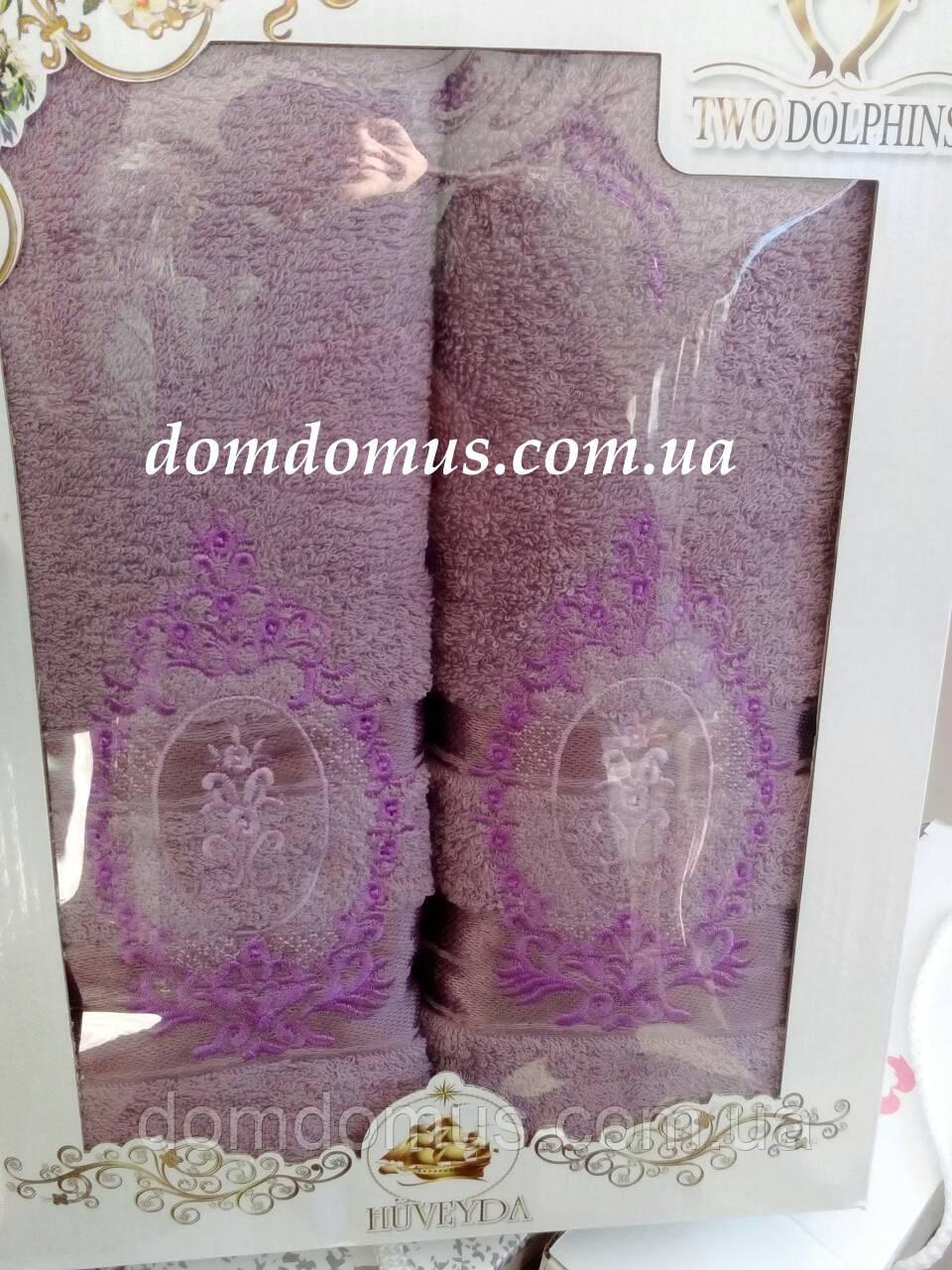 Подарочный набор полотенец TWO DOLPHINS, Турция 0182