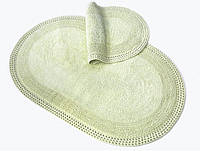 Набор ковриков 60х90 и 40х60 Irya Laverne Yeşil
