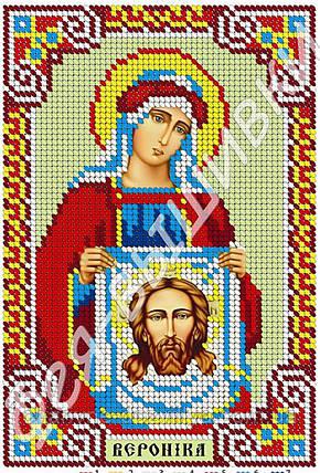 """Схема для вышивки бисером икона """"Святая Вероника"""" (полная зашивка), фото 2"""