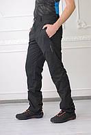Зимние мужские спортивные штаны Адидас(реплика) 10947-1 черные  код 116 Б