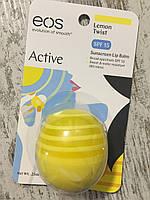 """Бальзам для губ EOS """"Лимон"""" плюсс солнцезащита, фото 1"""