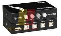Manual USB sharing switch на 4 гн.USB B, MT-1А4В-С