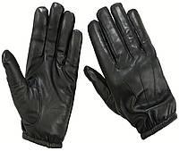 Кожаные тактические перчатки защита от порезов кевлар, фото 1