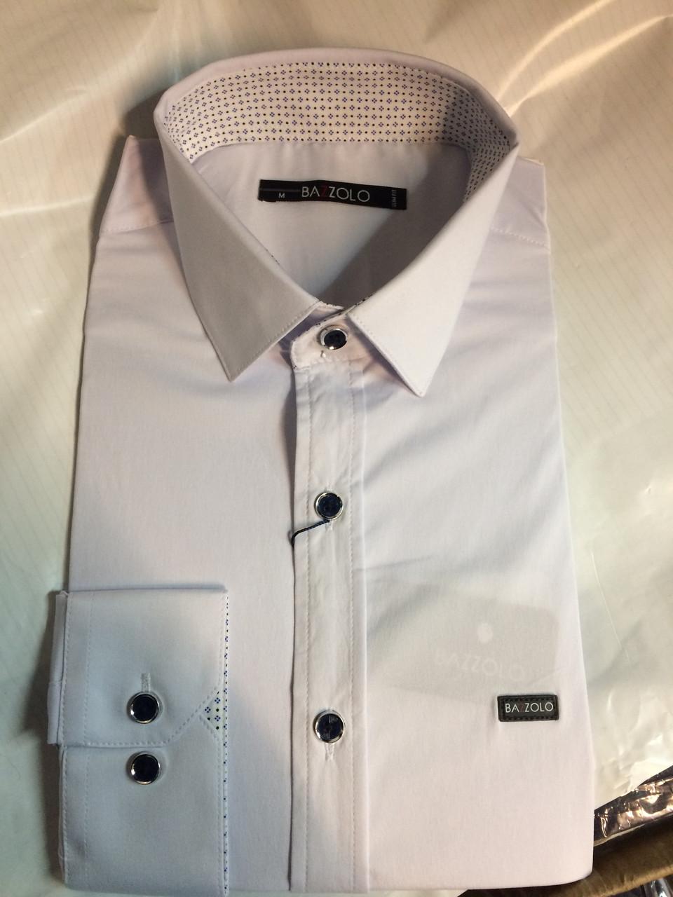 Мужская рубашка Bazollo модель SKY 1747