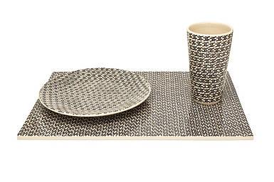 Кружка, тарелка и лоток в комплекте стол Оскар Zięta 2