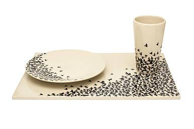 Кружка, тарелка и лоток в комплекте стол Оскар Zięta 1