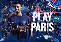 Футбольная форма Пари Сен-Жермен 2017-2018