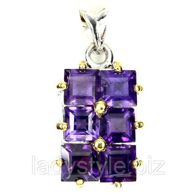 купить серебряное кольцо с танзанитовым кварцем украшения сапфир подарок